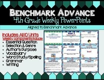 Benchmark Advance Companion: Fourth Grade Super Bundle - All Products