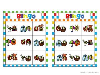 Benchmark Advance Differentiated 2 Letter Bingo Center