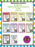 Benchmark Advance Kindergarten Grade ELD Bundle Units 1-10