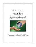 Benchmark Advance ELD - Grade 5, Unit 4