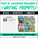 Benchmark Advance, First (1st) Grade, Unit 6, Leveled Read