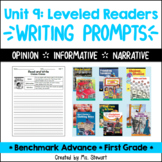 Benchmark Advance, First (1st) Grade, Unit 9, Leveled Read