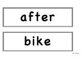 Benchmark Advance First Grade - Bulletin Board Spelling Words Unit 6