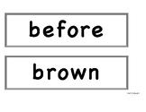Benchmark Advance First Grade - Bulletin Board Spelling Words Unit 9