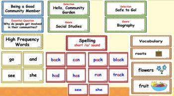 Benchmark Advance First Grade Bundle (National)