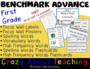 Benchmark Advance-First Grade FREE