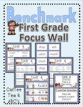 Benchmark Advance First Grade Focus Wall