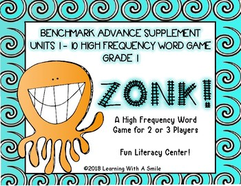 Benchmark Advance First Grade High Frequency Game ZONK!