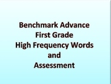 Benchmark Advance First Grade High Frequency Words and Assessment Pages