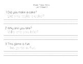 Benchmark Advance First Grade - Read, Trace, Write Unit 5