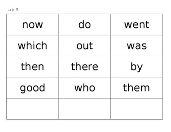 Benchmark Advance First Grade Sight Word Flashcards