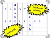 Benchmark Advance First Grade Spelling Word Search