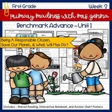 Benchmark Advance - First Grade UNIT 1 with Depth and Complexity Week 2