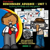 Benchmark Advance - First Grade UNIT 1 with Depth and Comp