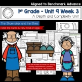Benchmark Advance - First Grade UNIT 9 Week 3 with Depth a