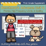 Benchmark Advance - First Grade UNIT 4 Supplemental Phonics, HFW, and Spelling