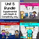 Benchmark Advance First Grade Unit 4 Bundle!