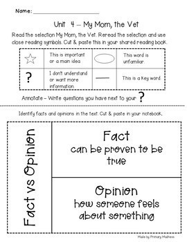 Benchmark Advance First Grade Unit 4 with Depth and Complexity