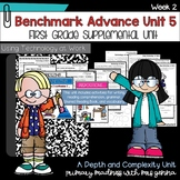 Benchmark Advance - First Grade UNIT 5 with Depth and Complexity Week 2