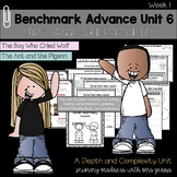 Benchmark Advance - First Grade UNIT 6 with Depth and Complexity Week 1