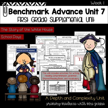 Benchmark Advance First Grade Unit 7 with Depth and Complexity