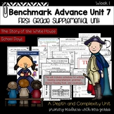 Benchmark Advance - First Grade UNIT 7  Week 1 with Depth and Complexity