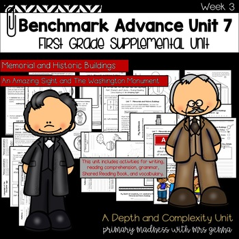 Benchmark Advance - First Grade UNIT 7 with Depth and Complexity Week 3