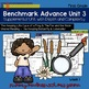 Benchmark Advance - First Grade UNIT 3 Bundle!