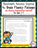 Benchmark Advance Fluency Passages and Comprehension- 4th Gr. (Ca. and National)