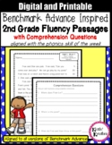Benchmark Advance Fluency Passages 2nd Grade (Calif. and National)