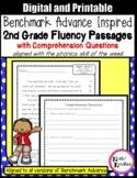 Benchmark Advance Fluency Passages 2nd Gr. w/ Google Slides™ - DISTANCE LEARNING