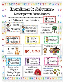 Benchmark Advance Focus Board for Kindergarten