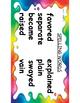Benchmark Advance Focus Wall 3rd Grade Unit 1 Week 2