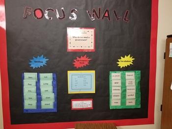 Benchmark Advance Focus Wall Second Grade Units 1-10