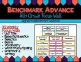 Benchmark Advance Fifth Grade Focus Wall (California)