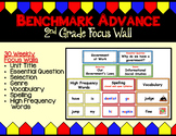 Benchmark Advance (Ca.) Focus Wall for Second Grade - Unit