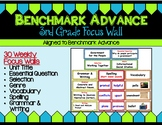 Benchmark Advance Third Grade Focus Wall Units 1 - 10 (California)