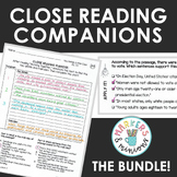 Benchmark Advance Fourth Grade Close Reading Companions BU