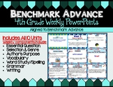 Benchmark Advance Fourth Grade PowerPoint Companion Units 1 - 10