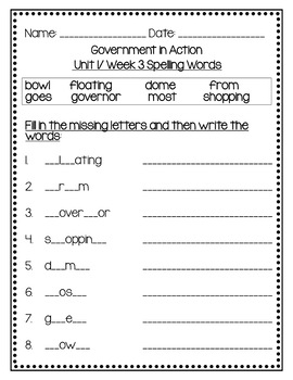 Benchmark Advance Fourth Grade Spelling Activities Units 1 - 10 (B.A. Companion)