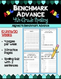 Benchmark Advance Fourth Grade Spelling Activities | Units 1 - 10