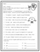 Benchmark Advance GRAMMAR Unit 7, Week 1- 2nd (SECOND) grade FREEBIE!!