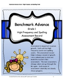 Benchmark Advance Grade 1 High Frequency and Spelling Asse