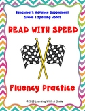 Benchmark Advance Grade 1 READ WITH SPEED Fluency Practice