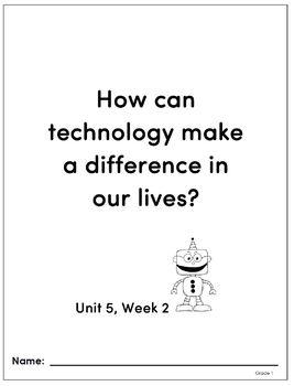 Benchmark Advance - Grade 1, Unit 5 - 3 Week Companion Resource