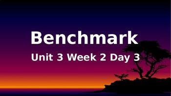 Benchmark Advance Grade 2 Powerpoint Unit 3 Week 2 Day 3