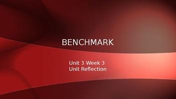 Benchmark Advance Grade 2 Powerpoint Unit 3 Week 3 Unit Reflection