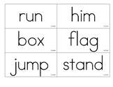 Benchmark Advance Grade 2 Spelling Word cards- all 10 units