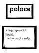 Benchmark Advance Grade 2 Unit 2 Vocabulary Posters