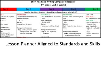 Benchmark Advance - Grade 2, Unit 4, Week 1 Companion Resource